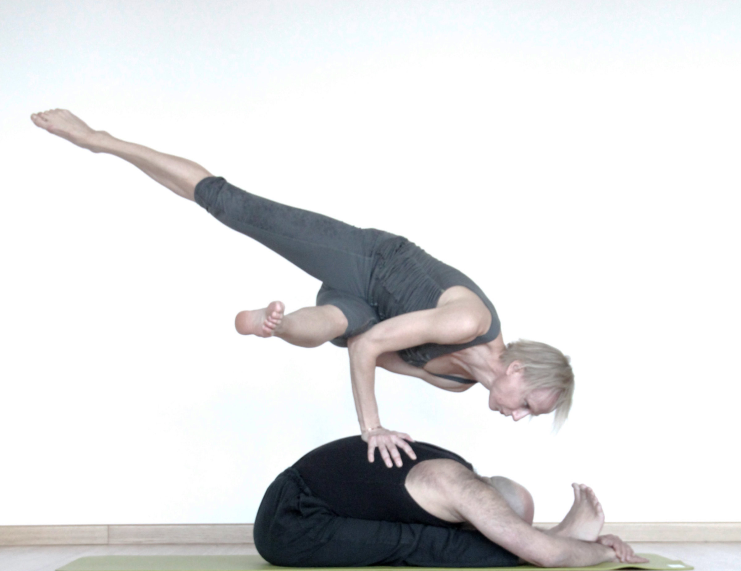 Acquiring skills at Santidas Yoga School, Brussels